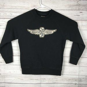 Indianapolis Motor Speedway Sweater Womens S Black